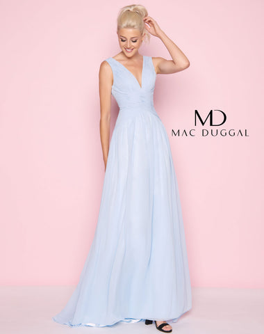 Mac Duggal 55149L Prom Dress Powder Blue
