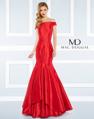 Mac Duggal Prom Dress 62398R Red