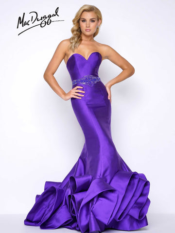 Prom Dress Mac Duggal 62711M