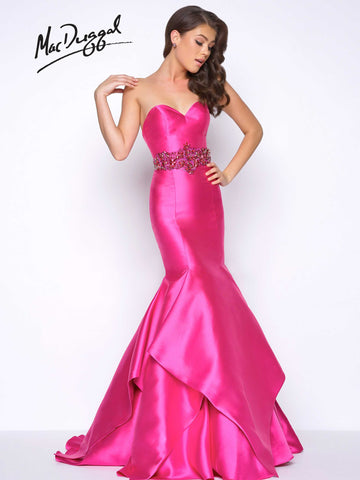 Prom Dress Mac Duggal 62716M