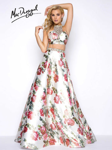Prom Dress Mac Duggal 66036M