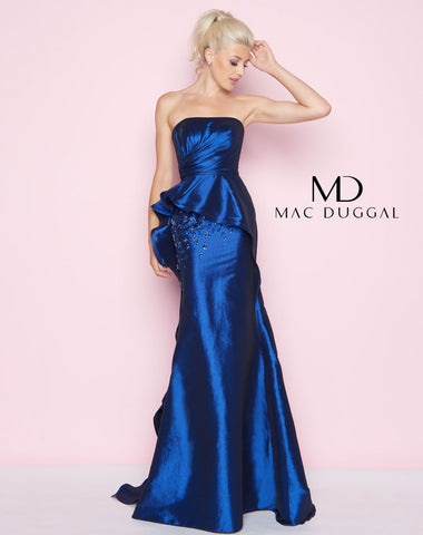 Mac Duggal 66567L Prom Dress Midnight