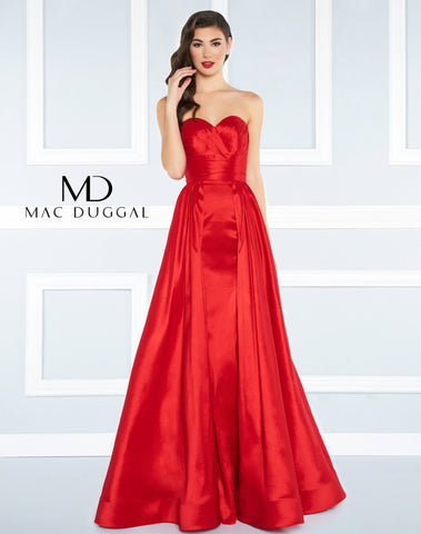 Mac Duggal Prom Dress 77266R Red