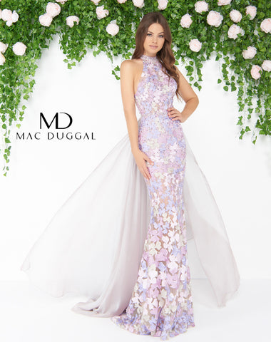 Mac Duggal 79174D Prom Dress Lilac