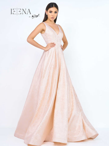Mac Duggal 8863I Prom Dress Blush