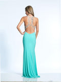 Dave & Johnny 1962 Aqua Prom Dress