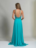 Dave & Johnny  Prom Dress Back View 2143