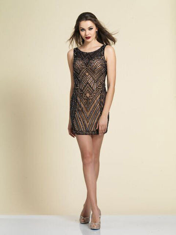 Homecoming Dress Dave & Johnny 2762