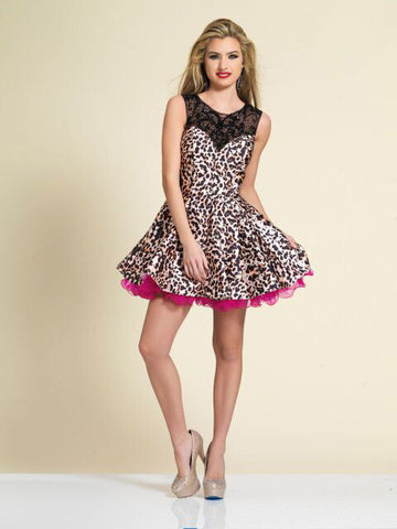 Homecoming Dress Dave & Johnny 2810
