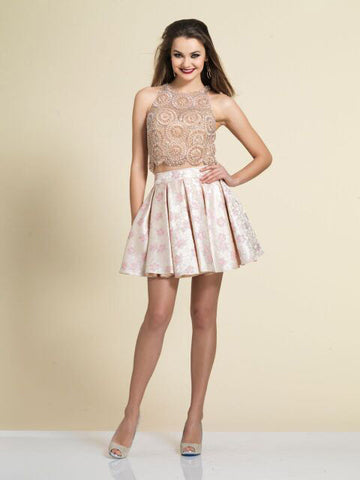 Homecoming Dress Dave & Johnny 2831