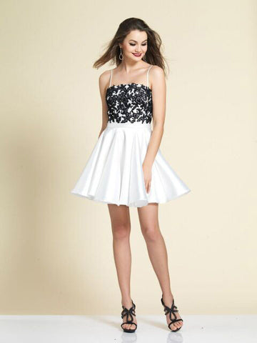 Homecoming Dress Dave & Johnny 2902