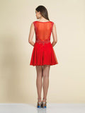 Dave & Johnny  Homecoming Dress 2906 Red Back