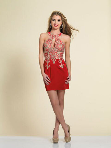 Homecoming Dress Dave & Johnny 2973