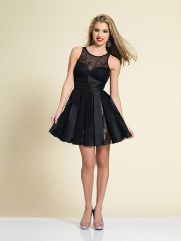 Homecoming Dress Dave & Johnny A4182