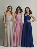 Dave & Johnny 497 Prom Dress Sapphire, Rose Pink, Taupe