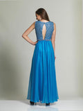 Dave & Johnny 1628 Sleevless Prom Dress
