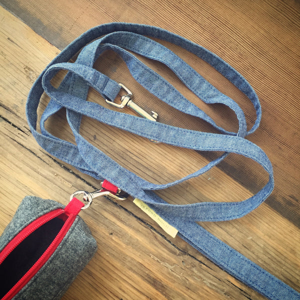 cotton Park Standard Leash | oxforddogma.com