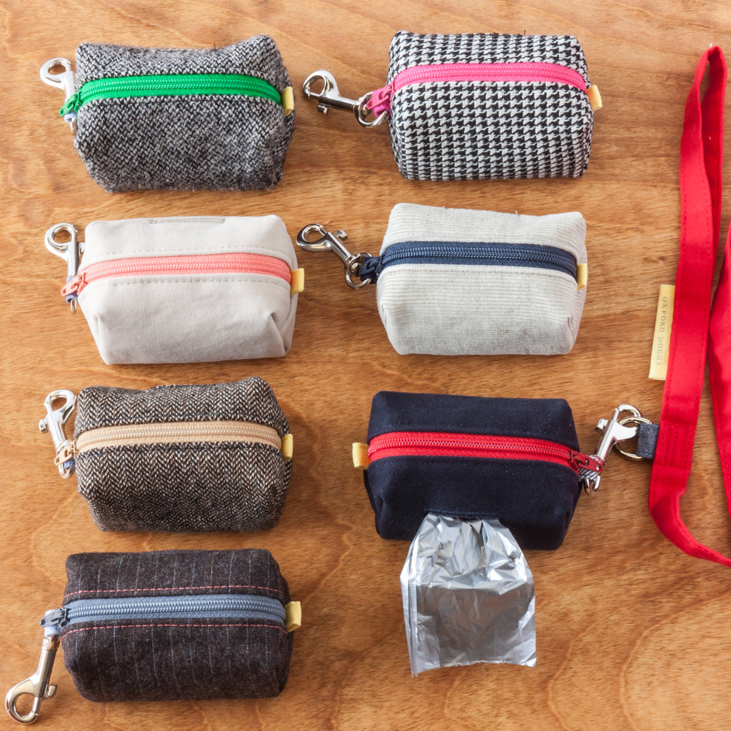 Road Trip Leash Pouch clean-up bag dispenser | oxforddogma.com