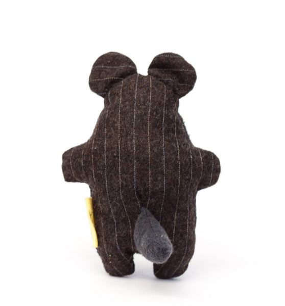 The cute tail on the back of the Pocket Critter Treat Toy gives your pet a little something to grab | oxforddogma.com