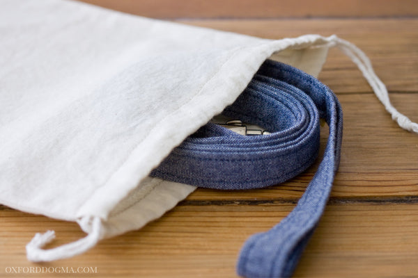 The Park Standard leash comes with a washing pouch to be gentler on your washing machine | oxforddogma.com