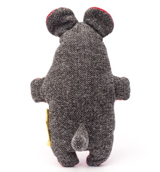 The cute tail on the back of the Pocket Critter Dog Toy gives your dog a little something to grab | oxforddogma.com
