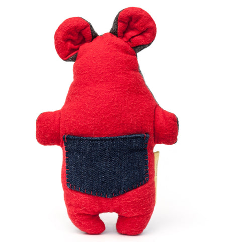 The plush Pocket Critter Treat Toy features a pocket for hiding treats or catnip for your small dog or cat to find | oxforddogma.comThe plush Pocket Critter Interactive Dog Toy features a pocket for hiding treats or kibble that your dog has to find | oxforddogma.com
