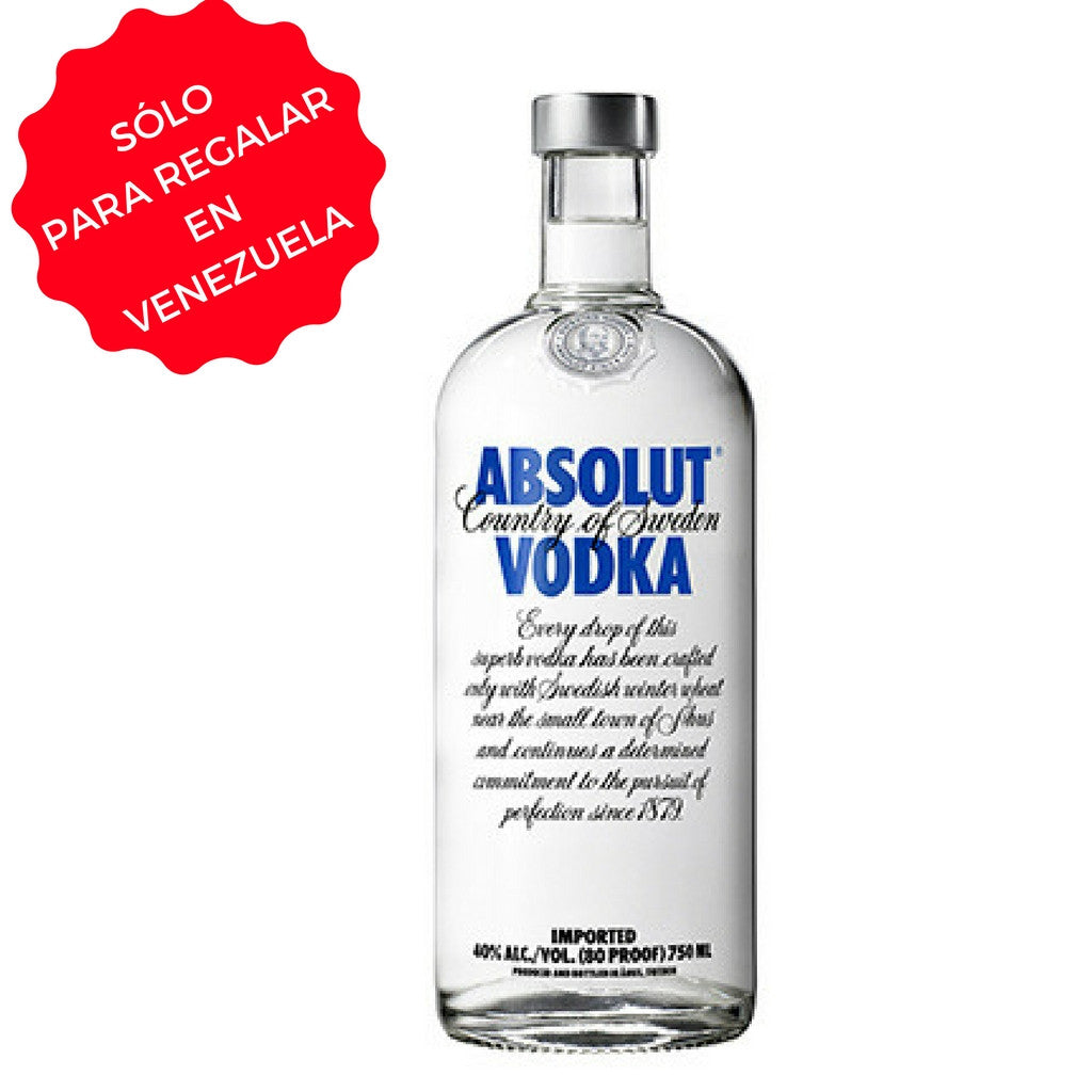 VODKA ABSOLUT 0,75 L