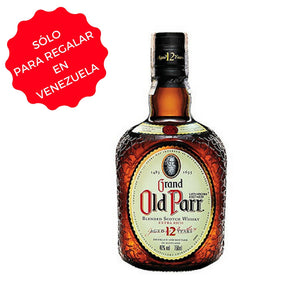 WHISKY OLD PARR 12 AÑOS 0,75 L