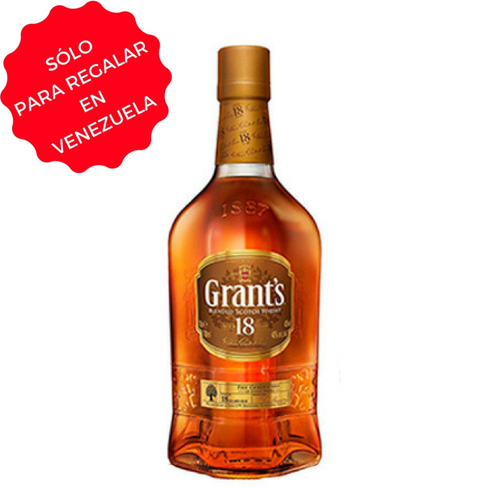 WHISKY GRANT´S 18 AÑOS 0,75 L