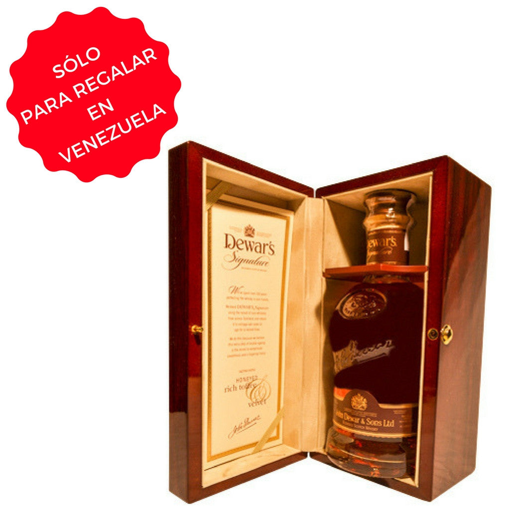 WHISKY DEWAR´S SIGNATURE 0,75 L