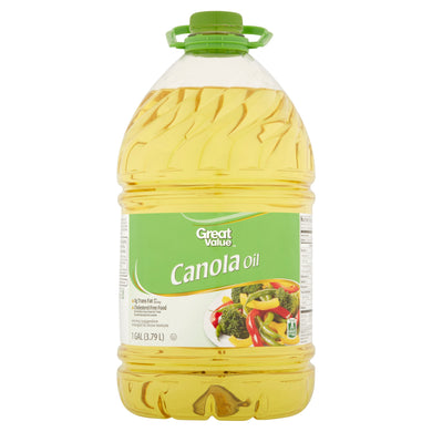 Aceite de Canola Great Value (galon) - 128 oz