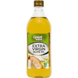 Aceite de Oliva 100% Extra Virgen Great Value - 25,5 oz