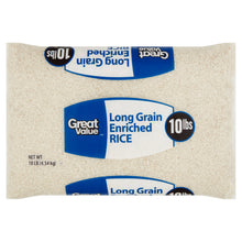 Arroz enriquecido de grano largo Great Value