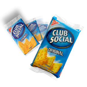 Galletas CLUB SOCIAL - 3 empaques de 234 g
