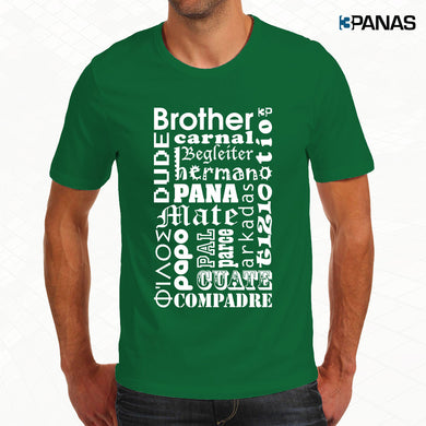 Franela Brother Color Verde - Hombre