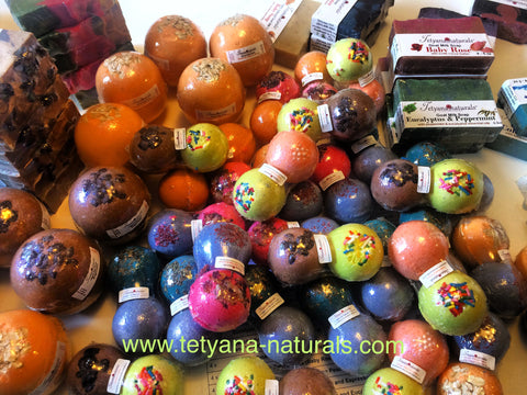 Natural Bath Bombs and Soaps in Bel Air