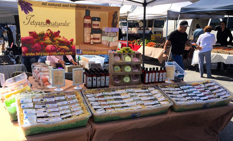 Pacific Grove Farmers Market in California
