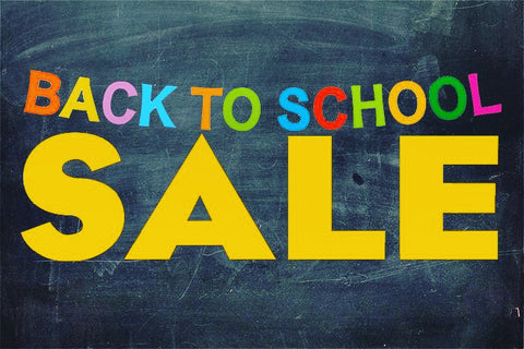 Back to school sale on soap