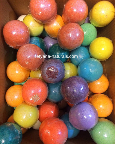 Natural Bath Bombs at Salinas Store in California