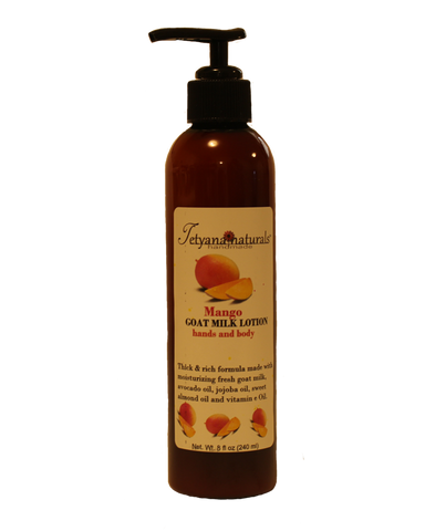 Mango Goat Milk Lotion