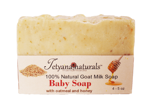 Baby Soap (great for eczema) - Tetyana naturals