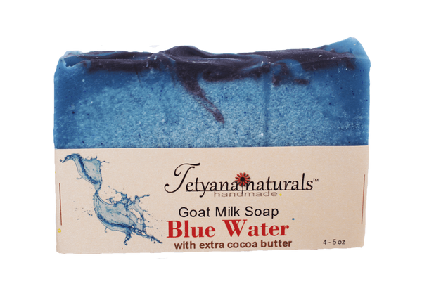 Blue Water Goat Milk Soap Bar - Tetyana naturals