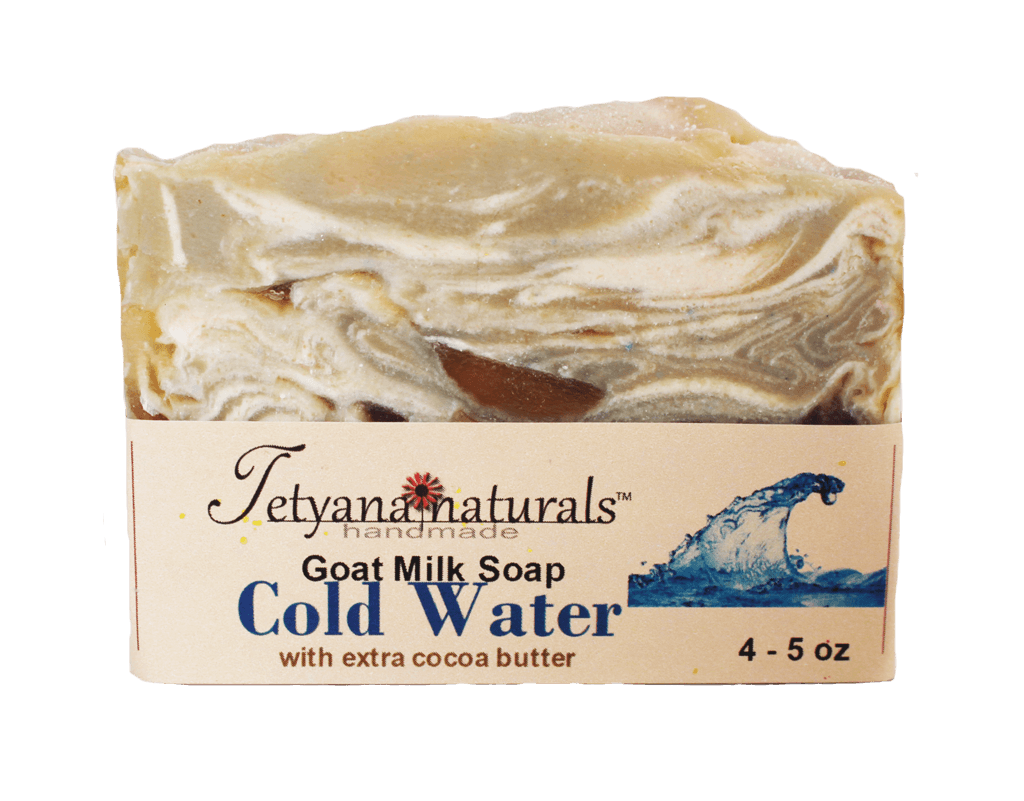 Cold Water Goat Milk Soap - Tetyana naturals