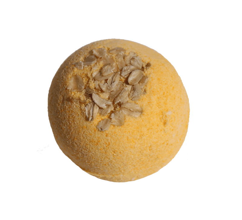 Oatmeal, Milk & Honey Bath Bomb - Tetyana naturals