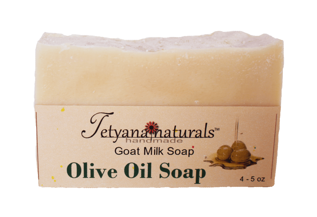 Olive Oil Goat Milk Soap - Tetyana naturals