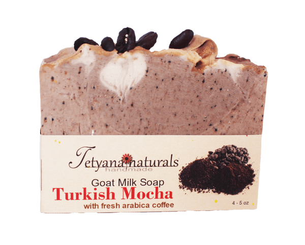 Turkish Mocha Goat Milk Soap - Tetyana naturals - 1