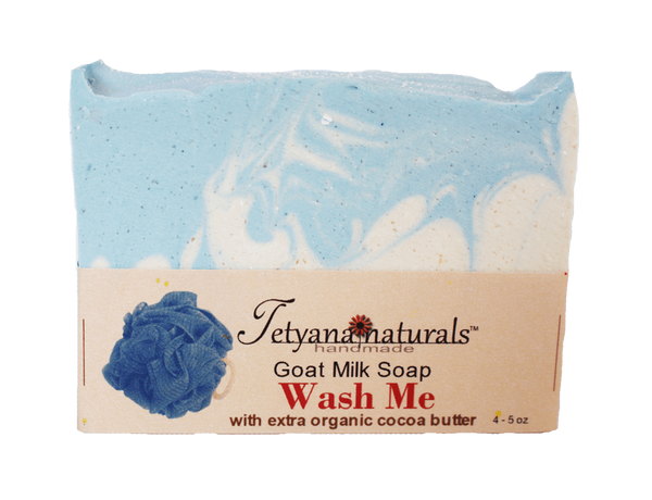 Wash Me Goat Milk Soap Bar - Tetyana naturals - 1