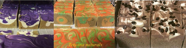 Party Favors Soap Bars (120 pc) - Tetyana naturals