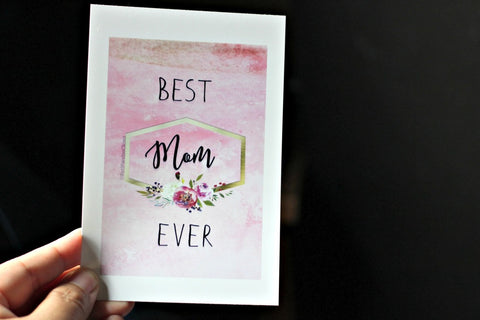 Mother's Day Card Red Panda's Closet
