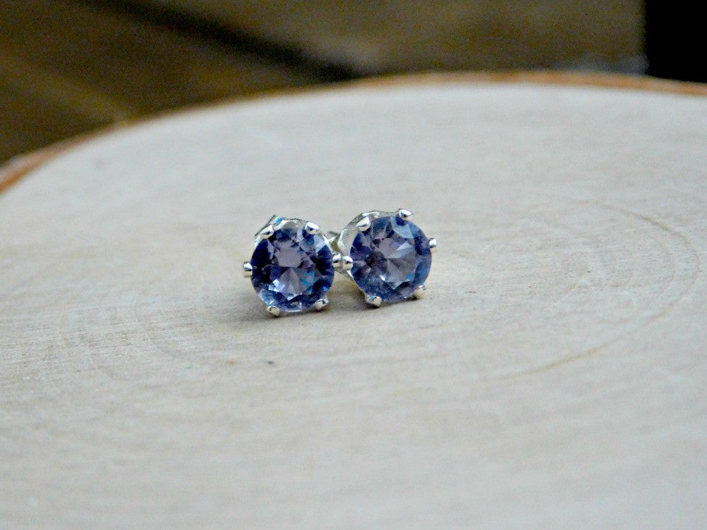 created white princess carats natural earrings gold pin karat cut stud alexandrite
